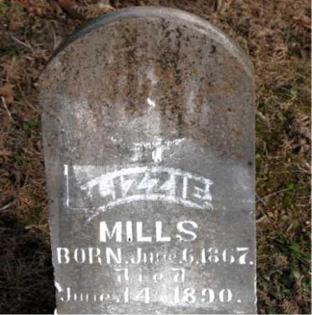 MILLS, LIZZIE - Carroll County, Arkansas   LIZZIE MILLS - Arkansas Gravestone Photos