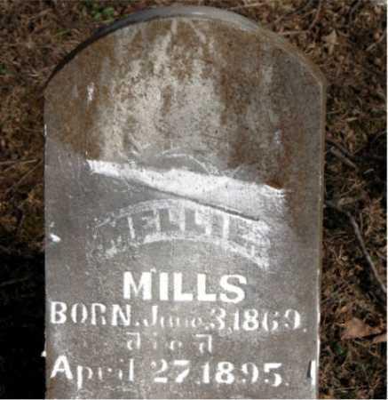 MILLS, MELLIE - Carroll County, Arkansas   MELLIE MILLS - Arkansas Gravestone Photos