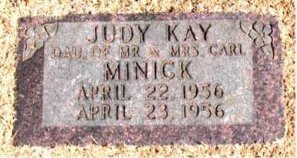MINICK, JUDY  KAY - Carroll County, Arkansas | JUDY  KAY MINICK - Arkansas Gravestone Photos