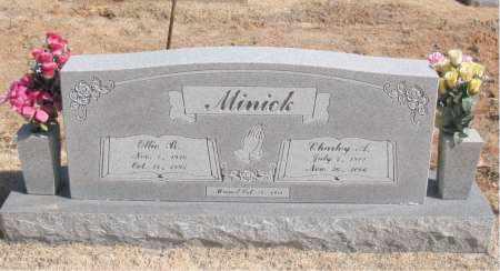 MINICK, CHARLEY  A. - Carroll County, Arkansas | CHARLEY  A. MINICK - Arkansas Gravestone Photos