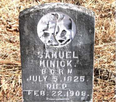 MINICK, SAMUEL - Carroll County, Arkansas | SAMUEL MINICK - Arkansas Gravestone Photos
