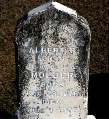 MOLDER, ALBERT  R - Carroll County, Arkansas | ALBERT  R MOLDER - Arkansas Gravestone Photos