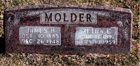 MOLDER, JAMES H - Carroll County, Arkansas | JAMES H MOLDER - Arkansas Gravestone Photos