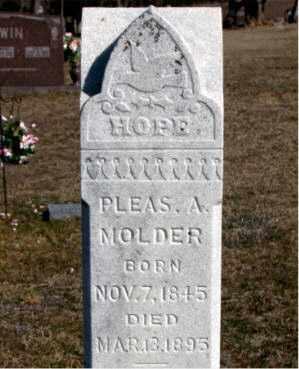 MOLDER, PLEAS A - Carroll County, Arkansas   PLEAS A MOLDER - Arkansas Gravestone Photos