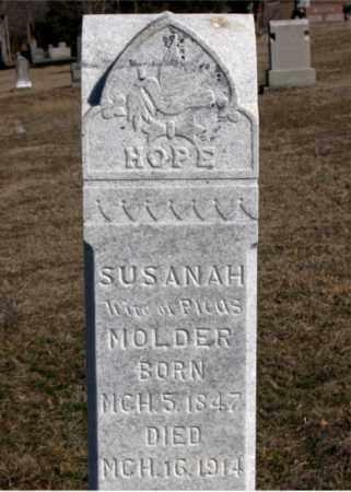 MOLDER, SUSANAH - Carroll County, Arkansas | SUSANAH MOLDER - Arkansas Gravestone Photos