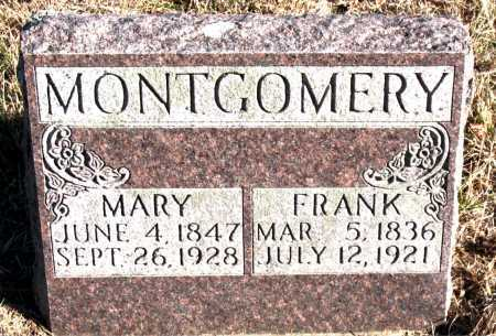 MONTGOMERY, MARY - Carroll County, Arkansas | MARY MONTGOMERY - Arkansas Gravestone Photos