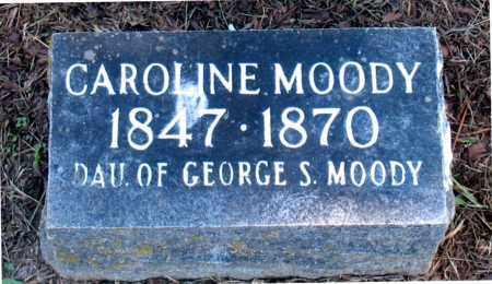 MOODY, CAROLINE - Carroll County, Arkansas | CAROLINE MOODY - Arkansas Gravestone Photos