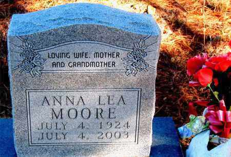 MOORE, ANNA LEA - Carroll County, Arkansas   ANNA LEA MOORE - Arkansas Gravestone Photos