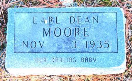 MOORE, EARL DEAN - Carroll County, Arkansas | EARL DEAN MOORE - Arkansas Gravestone Photos
