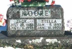 MOORE, STELLA - Carroll County, Arkansas   STELLA MOORE - Arkansas Gravestone Photos