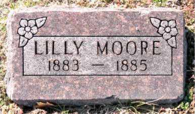 MOORE, LILLY - Carroll County, Arkansas | LILLY MOORE - Arkansas Gravestone Photos