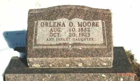 MOORE, ORLENA M - Carroll County, Arkansas | ORLENA M MOORE - Arkansas Gravestone Photos