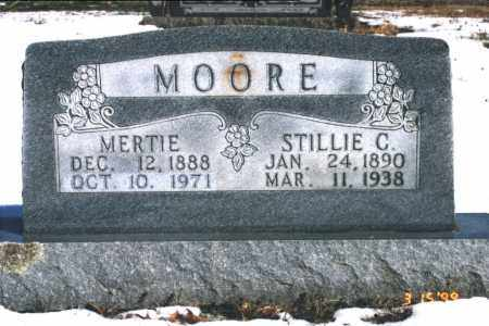 MOORE, STILLIE C. - Carroll County, Arkansas | STILLIE C. MOORE - Arkansas Gravestone Photos