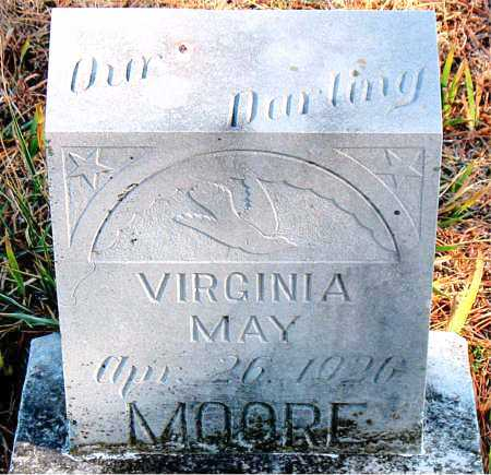 MOORE, VIRGINIA MAY - Carroll County, Arkansas | VIRGINIA MAY MOORE - Arkansas Gravestone Photos