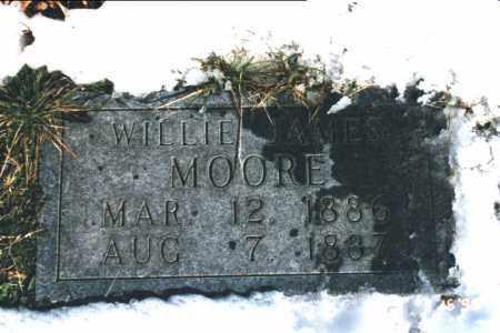 MOORE, WILLIE JAMES - Carroll County, Arkansas | WILLIE JAMES MOORE - Arkansas Gravestone Photos