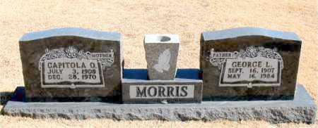 MORRIS, GEORGE  L. - Carroll County, Arkansas | GEORGE  L. MORRIS - Arkansas Gravestone Photos