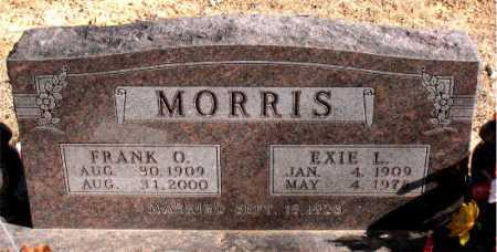 MORRIS, EXIE L. - Carroll County, Arkansas | EXIE L. MORRIS - Arkansas Gravestone Photos
