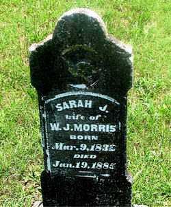 AMBROSE MORRIS, SARAH J - Carroll County, Arkansas | SARAH J AMBROSE MORRIS - Arkansas Gravestone Photos