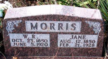 MORRIS, W.R. - Carroll County, Arkansas | W.R. MORRIS - Arkansas Gravestone Photos