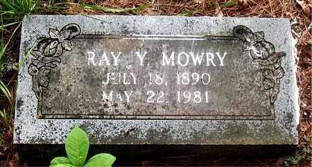 MOWRY, RAY YEAGER - Carroll County, Arkansas   RAY YEAGER MOWRY - Arkansas Gravestone Photos