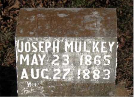 MULKEY, JOSEPH - Carroll County, Arkansas   JOSEPH MULKEY - Arkansas Gravestone Photos