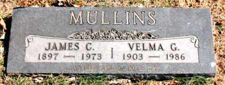 MULLINS, JAMES C. - Carroll County, Arkansas   JAMES C. MULLINS - Arkansas Gravestone Photos