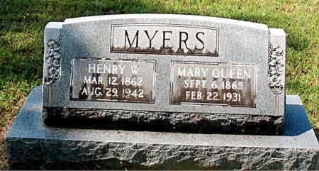 MYERS, HENRY W - Carroll County, Arkansas | HENRY W MYERS - Arkansas Gravestone Photos