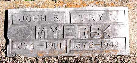 MYERS, TRY  L - Carroll County, Arkansas | TRY  L MYERS - Arkansas Gravestone Photos