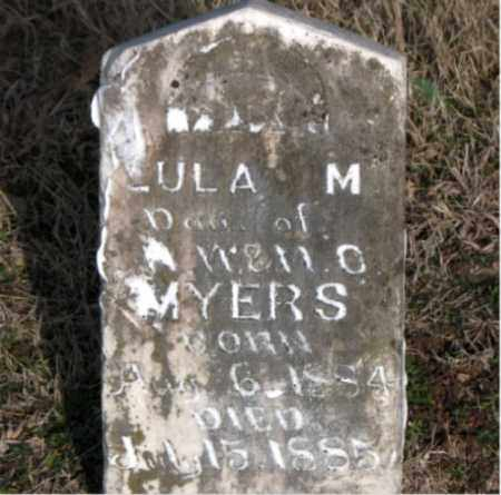 MYERS, LULA M - Carroll County, Arkansas | LULA M MYERS - Arkansas Gravestone Photos