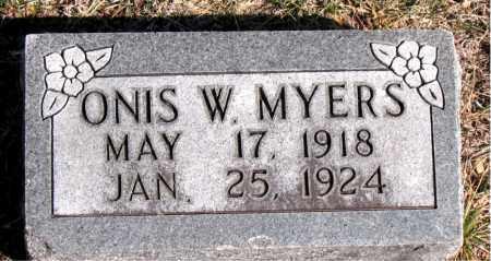 MYERS, ONIS W - Carroll County, Arkansas | ONIS W MYERS - Arkansas Gravestone Photos