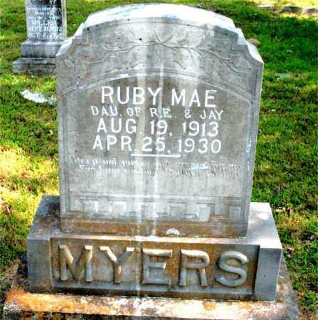 MYERS, RUBY MAE - Carroll County, Arkansas | RUBY MAE MYERS - Arkansas Gravestone Photos