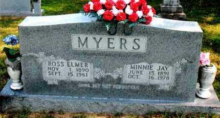 MYERS, ROSS ELMER - Carroll County, Arkansas | ROSS ELMER MYERS - Arkansas Gravestone Photos