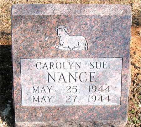 NANCE, CAROLYN SUE - Carroll County, Arkansas | CAROLYN SUE NANCE - Arkansas Gravestone Photos