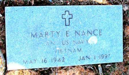 NANCE (VETERAN VIET), MARTY E - Carroll County, Arkansas   MARTY E NANCE (VETERAN VIET) - Arkansas Gravestone Photos