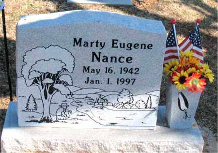 NANCE, MARTY EUGENE - Carroll County, Arkansas | MARTY EUGENE NANCE - Arkansas Gravestone Photos