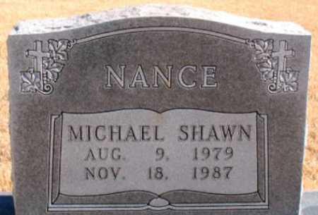 NANCE, MICHAEL SHAWN - Carroll County, Arkansas | MICHAEL SHAWN NANCE - Arkansas Gravestone Photos