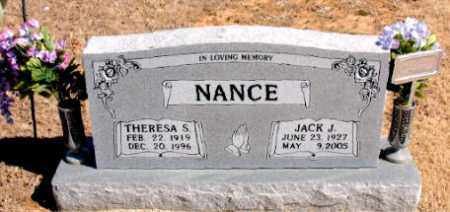 NANCE, JACK  J. - Carroll County, Arkansas   JACK  J. NANCE - Arkansas Gravestone Photos