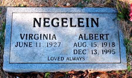 NEGELEIN, ALBERT - Carroll County, Arkansas | ALBERT NEGELEIN - Arkansas Gravestone Photos