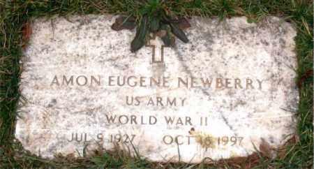 NEWBERRY (VETERAN WWII), AMON EUGENE - Carroll County, Arkansas   AMON EUGENE NEWBERRY (VETERAN WWII) - Arkansas Gravestone Photos