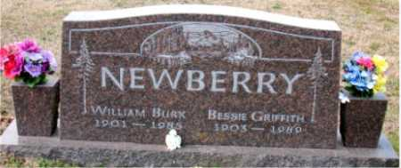 NEWBERRY, WILLIAM BURK - Carroll County, Arkansas | WILLIAM BURK NEWBERRY - Arkansas Gravestone Photos
