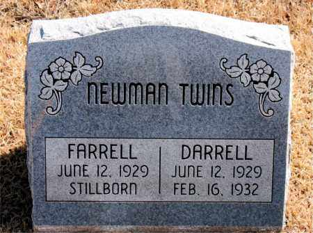NEWMAN, DARRELL - Carroll County, Arkansas | DARRELL NEWMAN - Arkansas Gravestone Photos