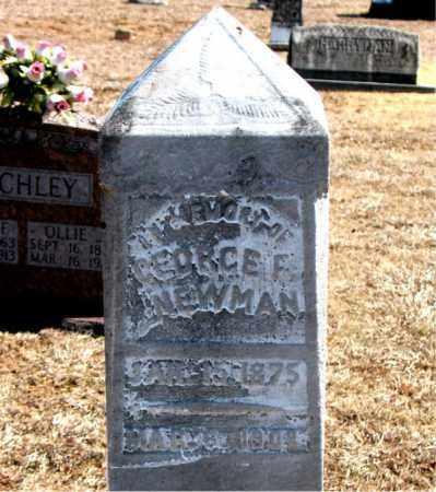 NEWMAN, GEORGE - Carroll County, Arkansas   GEORGE NEWMAN - Arkansas Gravestone Photos