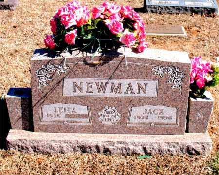 NEWMAN, JACK - Carroll County, Arkansas | JACK NEWMAN - Arkansas Gravestone Photos