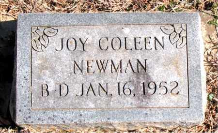 NEWMAN, JOY COLEEN - Carroll County, Arkansas | JOY COLEEN NEWMAN - Arkansas Gravestone Photos
