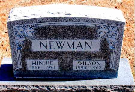 NEWMAN, WILSON - Carroll County, Arkansas | WILSON NEWMAN - Arkansas Gravestone Photos