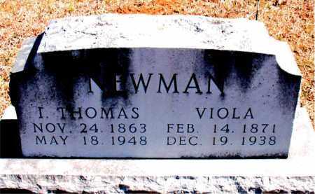 NEWMAN, VIOLA - Carroll County, Arkansas | VIOLA NEWMAN - Arkansas Gravestone Photos