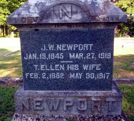 NEWPORT, J.W. - Carroll County, Arkansas | J.W. NEWPORT - Arkansas Gravestone Photos