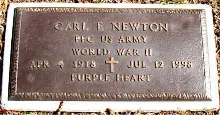 NEWTON (VETERAN WWII), CARL E - Carroll County, Arkansas | CARL E NEWTON (VETERAN WWII) - Arkansas Gravestone Photos