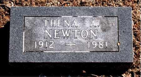 NEWTON, THENA A. - Carroll County, Arkansas   THENA A. NEWTON - Arkansas Gravestone Photos