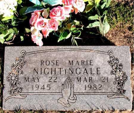 NIGHTINGALE, ROSE MARIE - Carroll County, Arkansas   ROSE MARIE NIGHTINGALE - Arkansas Gravestone Photos